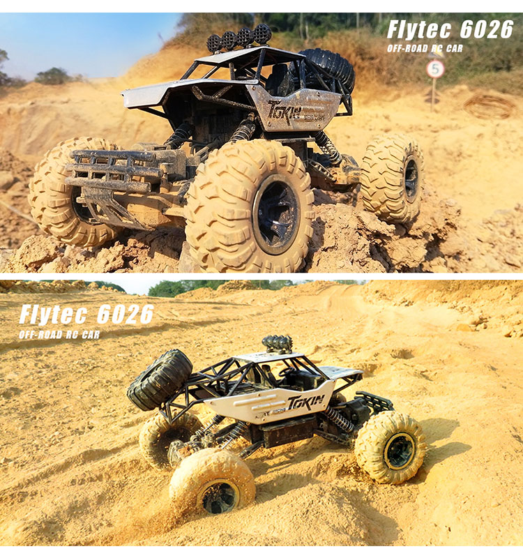 9. 6026E_Silver_2.4G_4WD_Off-Road_Buggy_Rc_Climbing_Car_Remote_Control_Alloy_Car