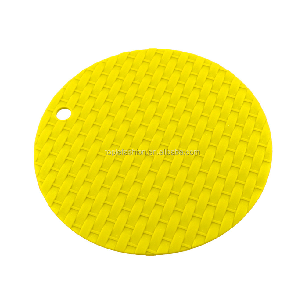Fancy silicone rubber drink coasters