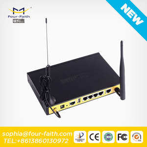 industrial vodafone 3g wireless modem m2m 3g wifi router with sim card slot with 4 LAN VPN router 3g outdoor