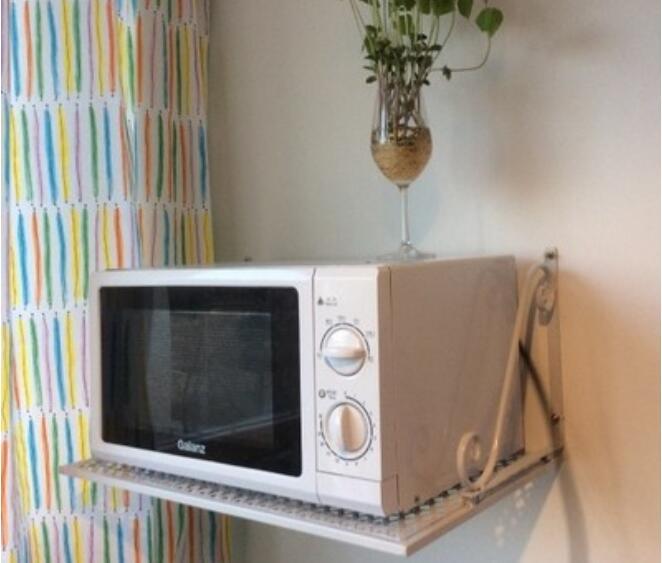 online kaufen gro handel mikrowelle wandhalterung regal. Black Bedroom Furniture Sets. Home Design Ideas