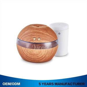50Ml Mini Usb Car Humidifier 12V Dual Aroma Oil Diffuser Air Purifier Mist Maker