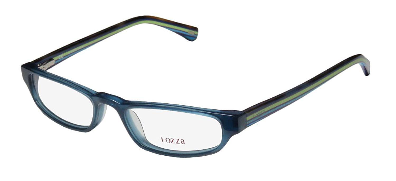 cc70403ae07 Get Quotations · Lozza 1819n Mens Womens Designer Full-rim Spring Hinges  Eyeglasses Eye Glasses