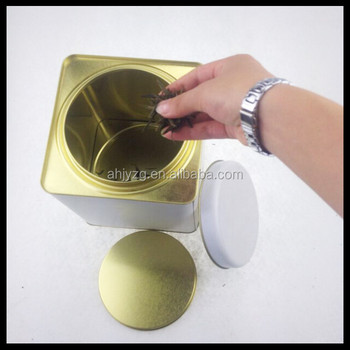 Food Coloring Printer Ink Tea Tin Cans For Russia Market - Buy Food ...