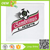 cheap price promotional 100% cotton football shape face cloth