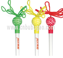2015 hot selling lolly pen/ lollipop pen/ sugar-loaf pen