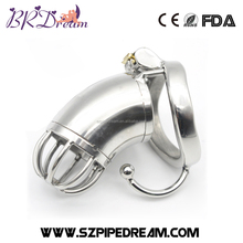 Stainless Steel Male Chastity Device with Sex Adult Games Toys Penis Cage