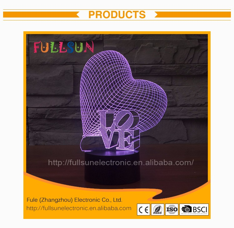 FS- 2976 Online wholesale OEM night light color flashing 3d led logo projector laser lamp