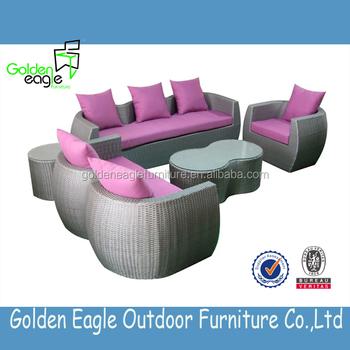 Ratan Indoor Furniture Sofa Set Plastic