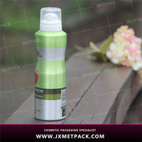 Colorful Aluminum offset printing aerosol spray can for sale
