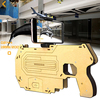 Augmented Reality 3D Wood Bluetooth DIY Toy AR Gun Game Player
