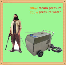 Auto car cleaning machine steam mobile portable diesel heating industrial steam cleaning machines
