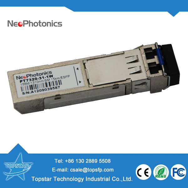 NeoPhotonics PT7320-31-1W 155M 1310nm 15km fiber optic networking products