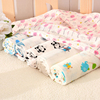 infant 100% organic cotton new design printed muslin baby swaddle blanket