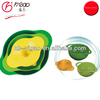 3PC multi-colored mixing bowl set