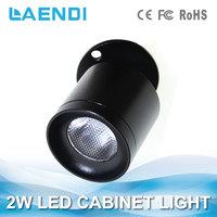 CRI>80 5000K 3W led cabinet shelf cabinet and furniture light for office