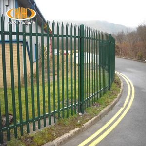 New product bridge clearvu palisade fence for garden gates