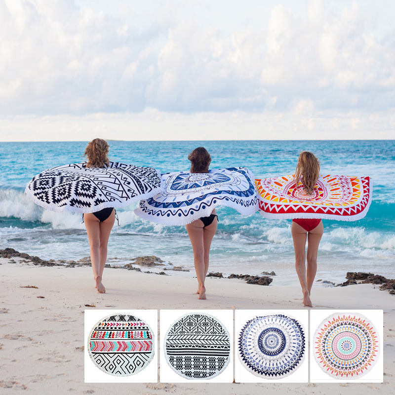 Beach Towel Online: Online Buy Wholesale Round Beach Towel From China Round