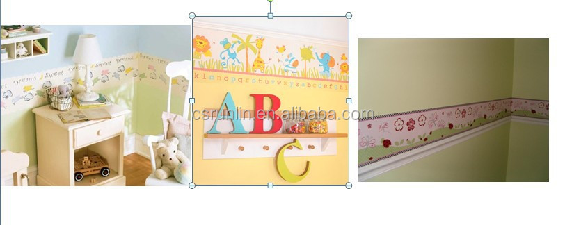Vinyl Printed Wall Paper For Baby Bedroom Pvc Self Adhesive ...