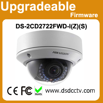 Popular 2MP 30meters long range ir Vari-focal ip camera Hikvision DS-2CD2722FWD-I(Z)(S)