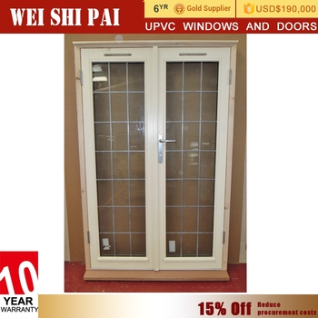 White Balcony Vented 36 X 80 Pvc Oversize Exterior Door,Glass Louver ...