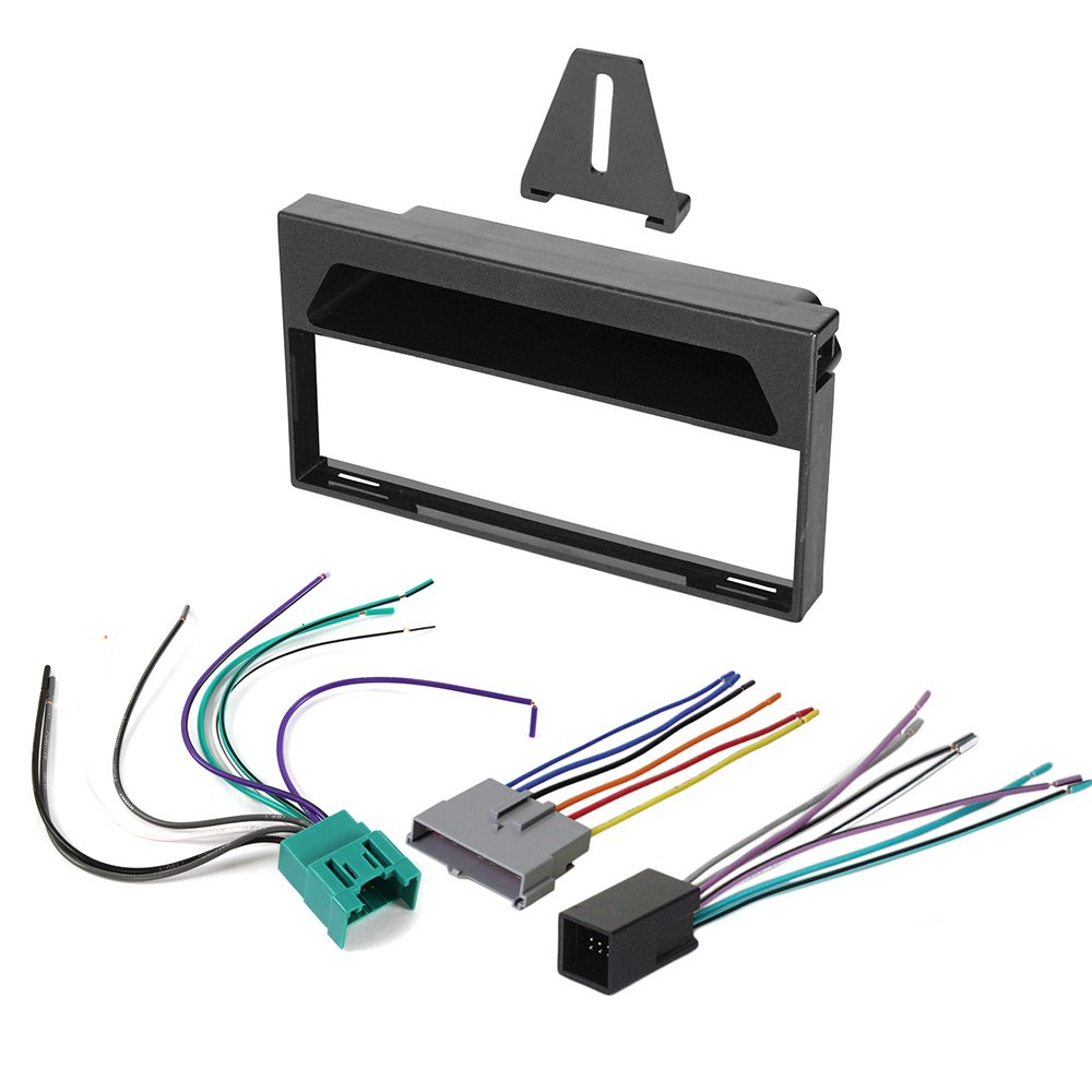 Get Quotations · 1997 - 1998 FORD F-150 AFTERMARKET CAR STEREO RADIO SINGLE  DIN DASH INSTALLATION KIT