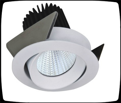Popular indoor decoration items , 7W COB LED down light fixture