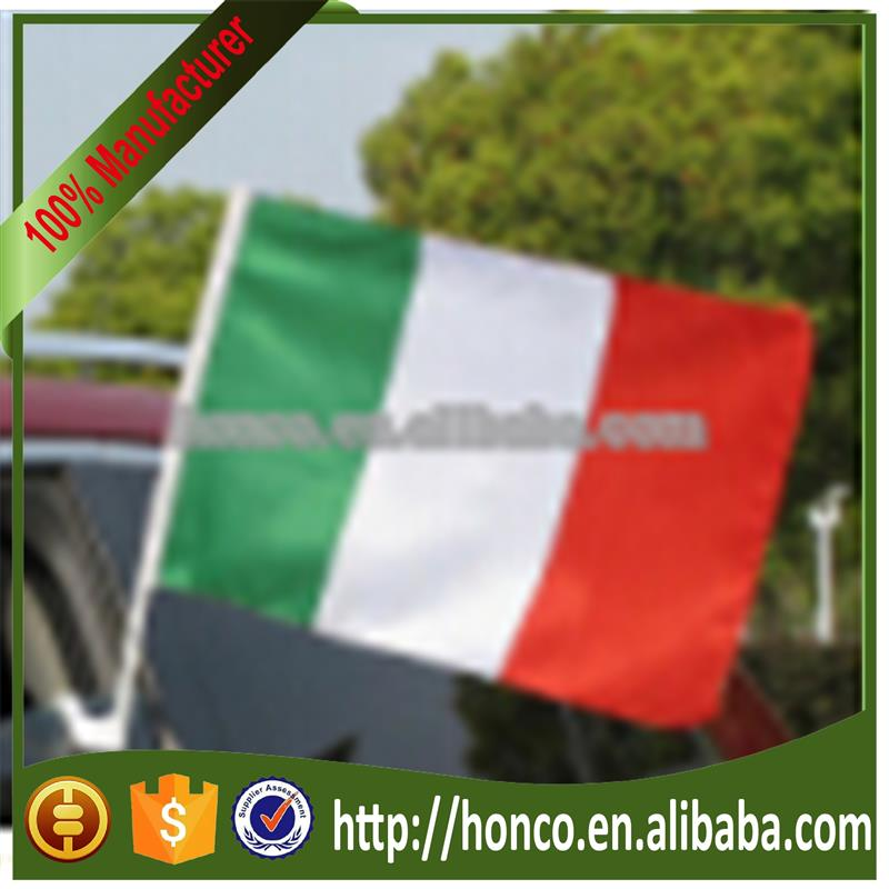 2018 World cup y Car Window Flag/italian car window flag