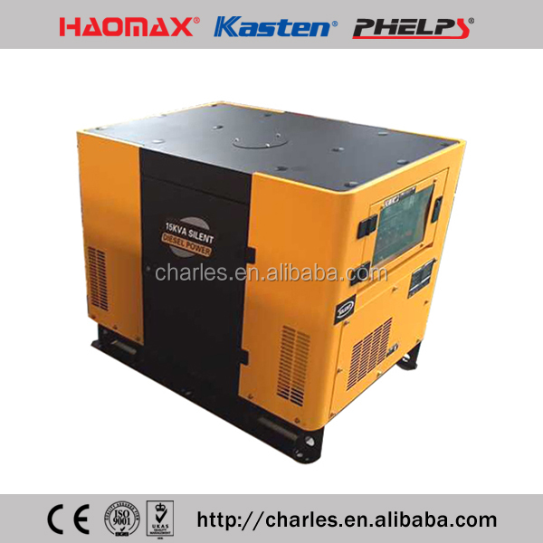 15KVA AIR COOLED DIESEL GENERATOR WITH 292F DIESEL ENGINE