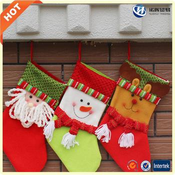 cheap wholesale hang christmas stocking of felt - Christmas Stockings Wholesale
