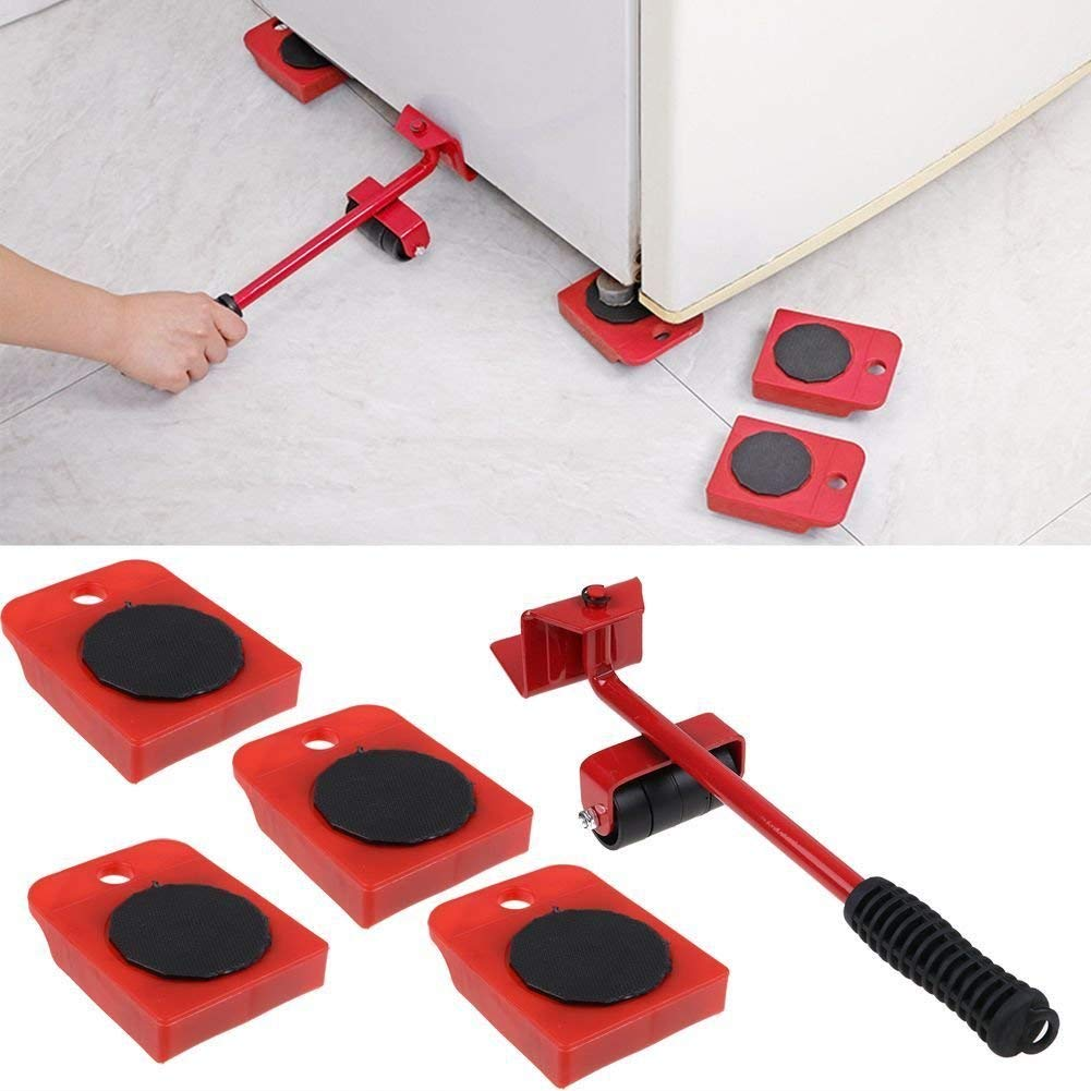 Moon Daughter Heavy Furniture Dolly Mover Shifter Lifter Rolling Wheel Moving Kit Slider