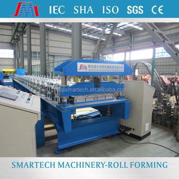 High Strength Color Steel Corrugated Roof Sheet Making
