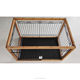 Different size bamboo cages,metal dog cages