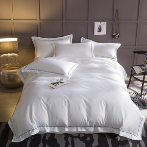 Europe style 100% cotton white quilt