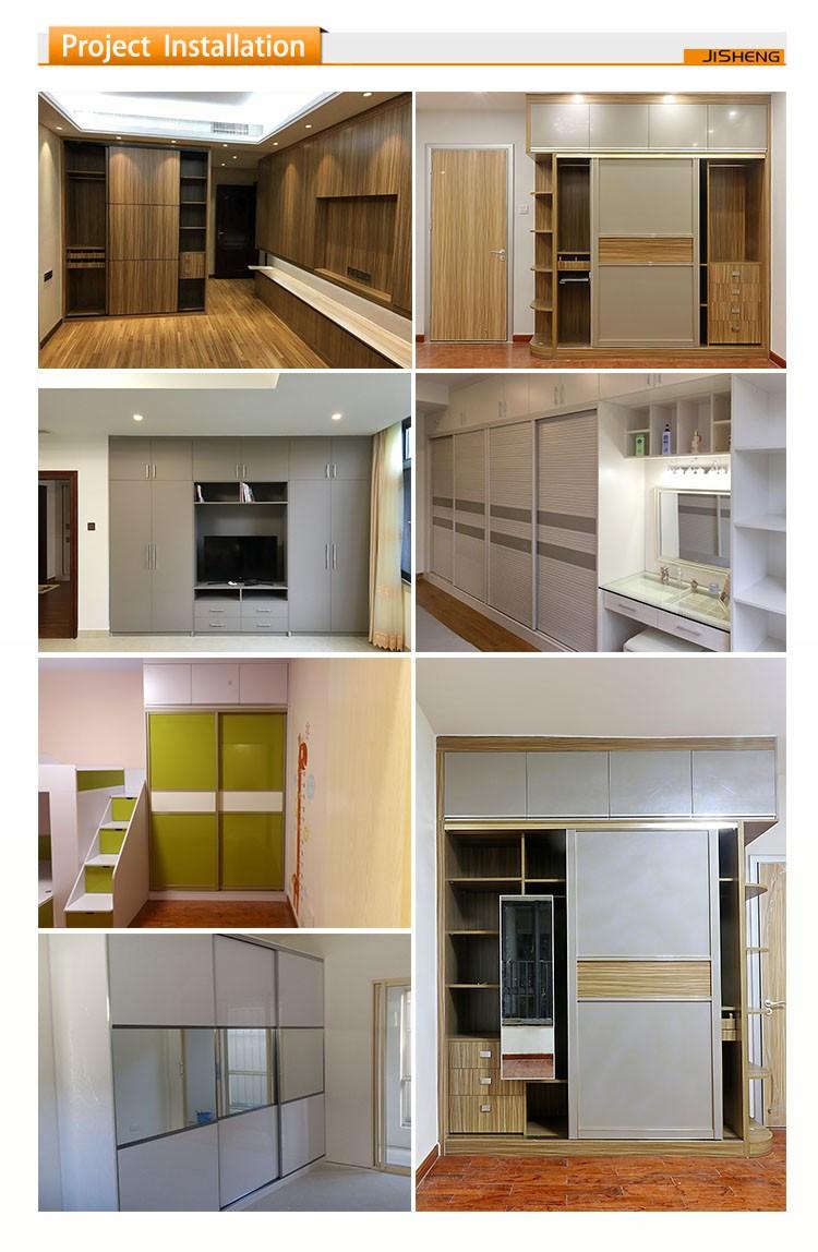 Melamine Bedroom Furniture Modern Design Bedroom Furniture Melamine Borad Wardrobe Glass
