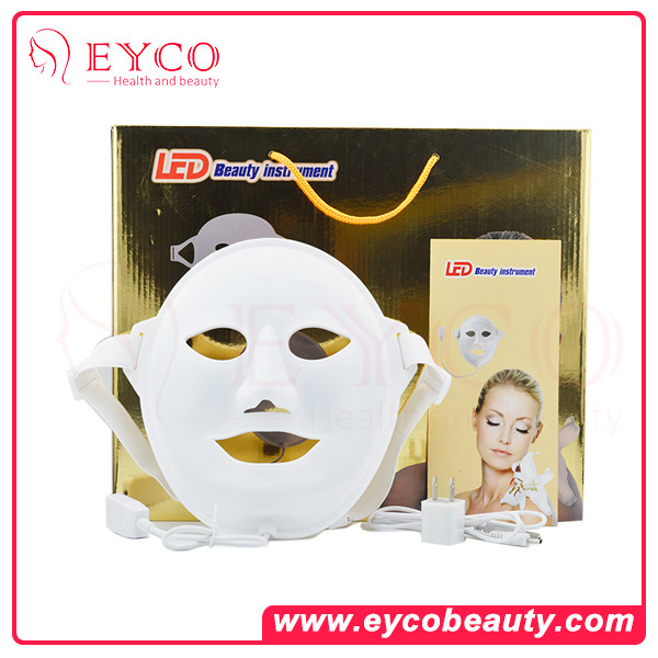 EYCO silicone led mask new product fair skin treatment at home home wrinkle treatment device