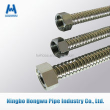 Stainless steel corrugated tube for water gas system