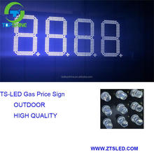 LED gas price sign outdoor led petrol/oil price sign waterproof led fuel price sign led display