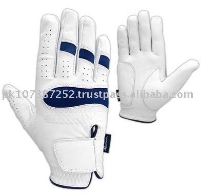 Skip-Proof Cabretta Golf Gloves with Custom Logo Compression Fits Men's Golf Hand