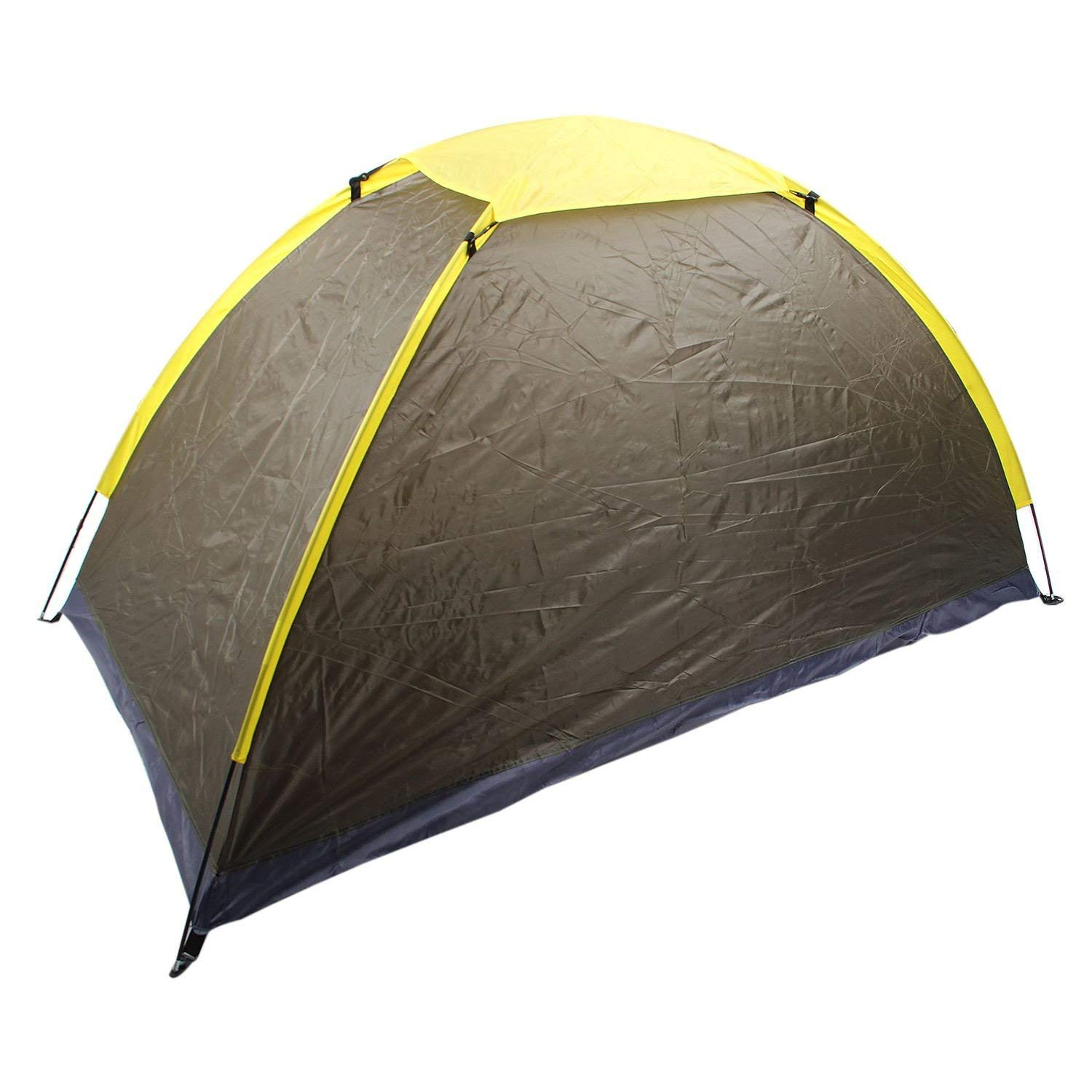 Nutsima Outdoor camping tent single People camping tent Army Green