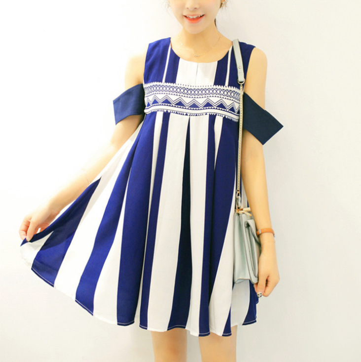 223552ded97f1 Get Quotations · Striped Silk Maternity Dress Short Sleeve Sexy Maternity  Clothes High Quality Cheap Price Cute Maternity Gown