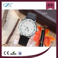 manufacturer fashion watch,genuine leather high quality quartz watch,trend design watch, stainless steel men watch