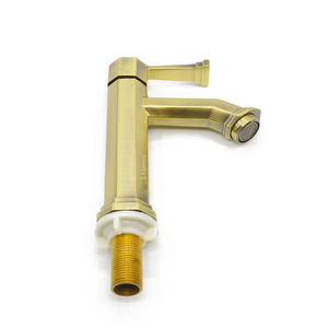 Factory supply Vintage Style green bronzebasin tap
