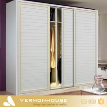 2017 Vermonhouse Furniture Waterproof Modular Wood Bedroom Cupboards Design