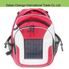 Advanced oxford hiking solar backpack with phone power supplier