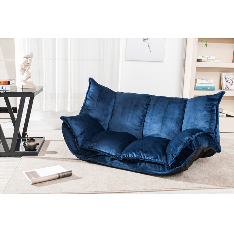 Velvet Sofa Bed Fabric Living Room