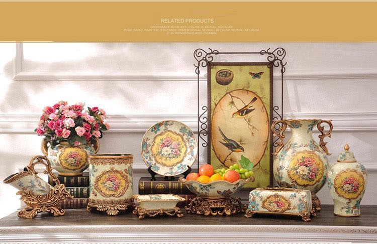 New Products Luxury Resin Scandinavian Home Decor Guangzhou Arts