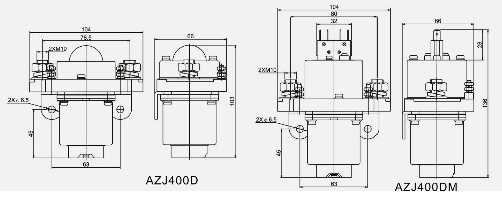Electric Yacht Ofen Used contactor 12V 24V 400A DC Contactor, View DC  Contactor, AK Product Details from Zhejiang Aokai Electric Co , Ltd  on