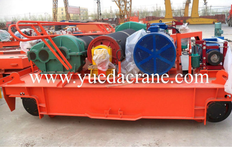MG model heavy duty double girder gantry crane