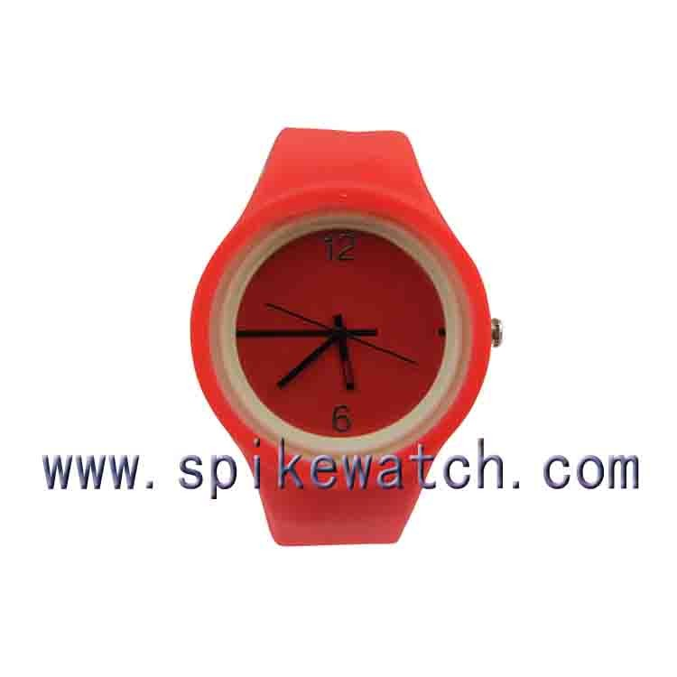 Top selling bright colors silicone watch China dropshippers