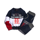 High quality wholesale boys spring sport clothing set for kids children